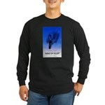 king of plop with text Long Sleeve Dark T-Shirt
