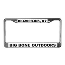Big Bone Outdoors Beaverlick License Plate Frame