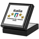 Cute Italian calcio Keepsake Box