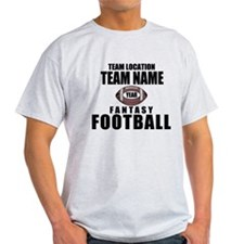 Your Team Personalized Fantasy Football T-Shirt