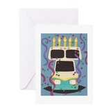 RV Birthday Greeting Card