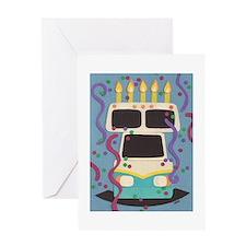 RV Birthday Greeting Card