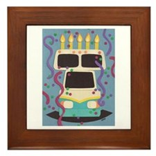 RV Birthday Framed Tile
