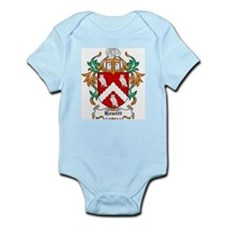 Hewitt Coat of Arms Infant Creeper