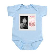 george bernard shaw quote Infant Bodysuit