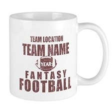 Distressed Personalized Fantasy Football Classic M