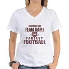 Distressed Personalized Fantasy Football Classic W