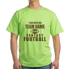 Distressed Personalized Fantasy Football Classic G