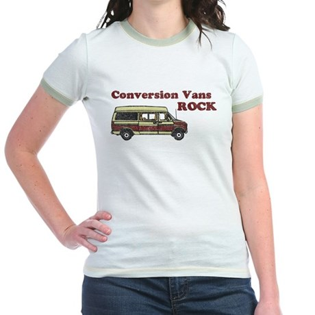Conversion Vans Rock Jr. Ringer T-Shirt