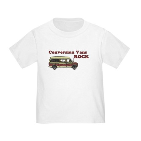 Conversion Vans Rock Toddler T-Shirt
