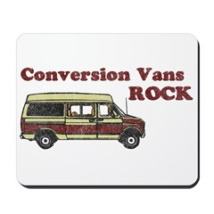 Conversion Vans Rock Mousepad