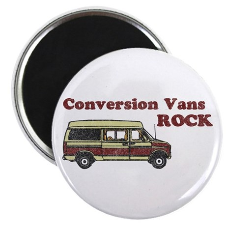 Conversion Vans Rock Magnet