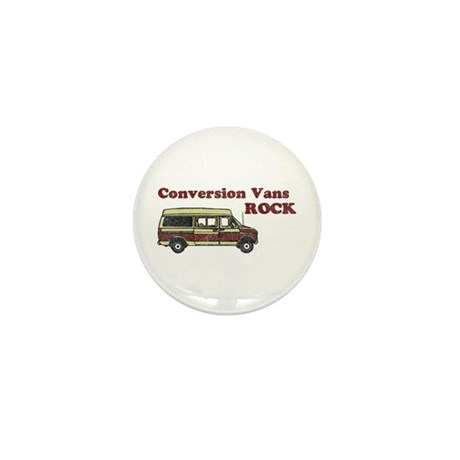 Conversion Vans Rock Mini Button