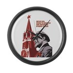 Lenin Large Wall Clock