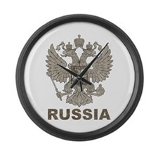 Vintage Russia Large Wall Clock