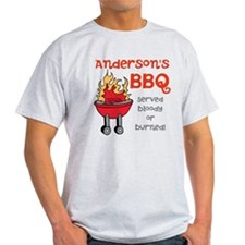 Personalized BBQ T-Shirt