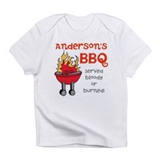 Personalized BBQ Infant T-Shirt