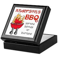 Personalized BBQ Keepsake Box