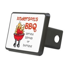 Personalized BBQ Hitch Cover