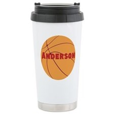 Personalized Basketball. Travel Mug