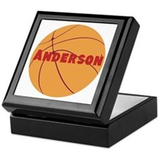 Personalized Basketball. Keepsake Box