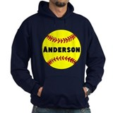 Personalized Softball Hoodie