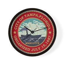 Tampa Seal Wall Clock