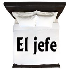 El jefe (The Boss) King Duvet
