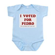 I voted for Pedro Infant Creeper