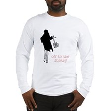Off to the Library Long Sleeve T-Shirt
