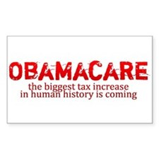Obamacare biggest tax increase in history Decal