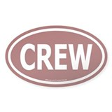 CREW Euro Oval Decal