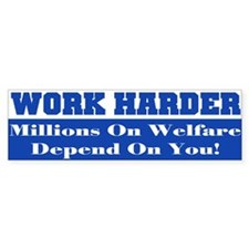 Welfare Car Sticker
