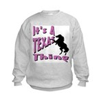 Country Girl Kids Sweatshirt