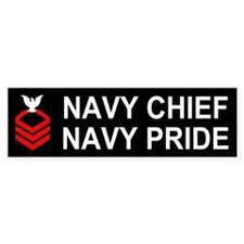 Chief Petty Officer<BR> Bumper Sticker 2