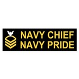 Chief Petty Officer<BR> Bumper Sticker 1