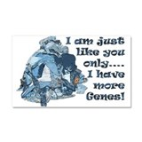 More Jeans Car Magnet 20 x 12