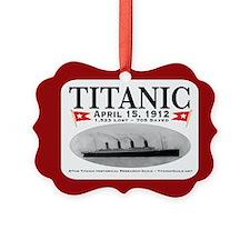 Titanic Ghost Ship (white) Ornament