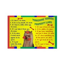 Funny Yorkshire sayings Rectangle Magnet (10 pack)