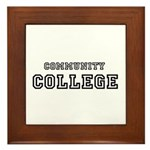 Community College Framed Tile