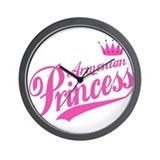 Armenian Princess Wall Clock