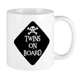 WARNING: TWINS ON BOARD Mug
