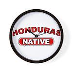Honduras Native Wall Clock