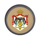Jordan Coat Of Arms Wall Clock