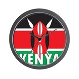 Kenya Wall Clock