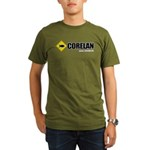 CorelanText Organic Men's T-Shirt (dark)