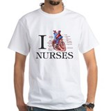 Cute I love school nurses Shirt