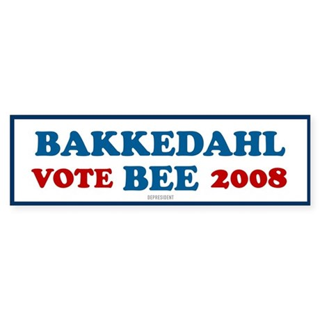Bakkedahl Bee Bumper Sticker