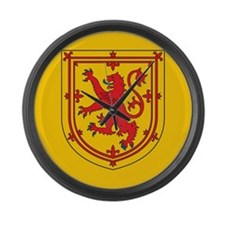 Scotland Emblem Large Wall Clock
