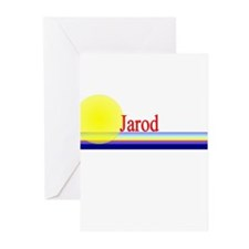 Jarod Greeting Cards (Pk of 10)